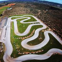 Circuito de Villafranca a vista de drone